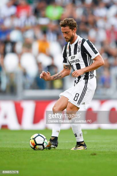 Claudio Marchisio during the Serie A match between Juventus and Cagliari Calcio at Allianz Stadium on August 19 2017 in Turin Italy