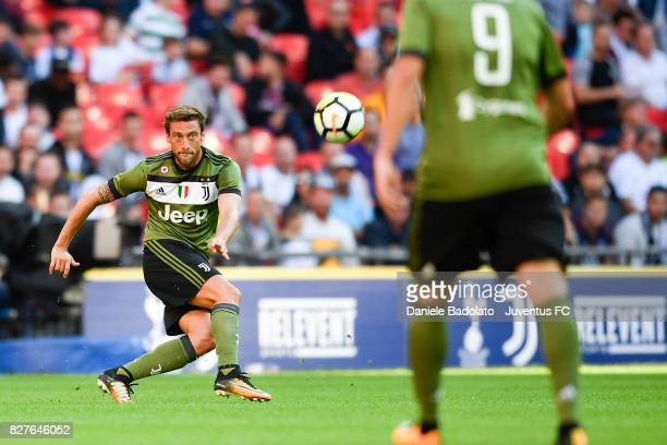 Claudio Marchisio during the Tottenham Hotspur v Juventus PreSeason Friendly match at Wembley Stadium on August 5 2017 in London England