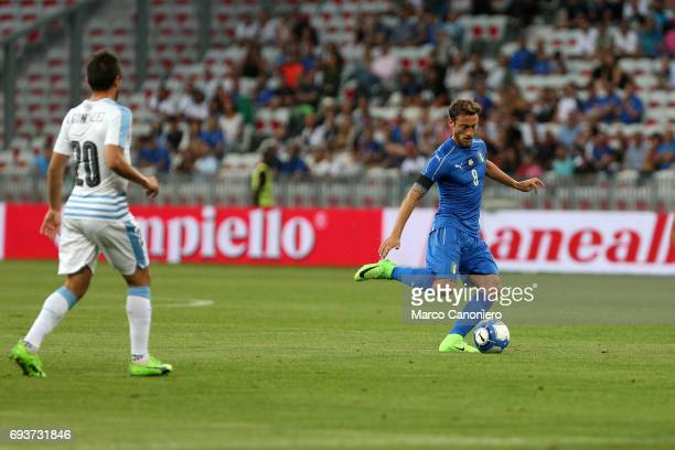 Claudio Marchisio of Italy in action during the international friendly match between Italy and Uruguay Italy wins 30 over Uruguay