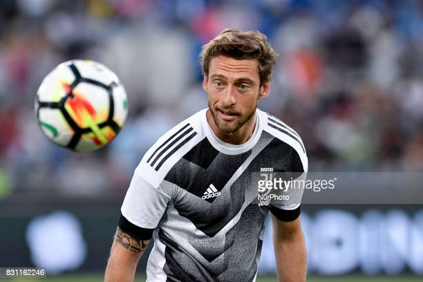 Claudio Marchisio of Juventus during the Italian Supercup Final match between Juventus and Lazio at Stadio Olimpico Rome Italy on 13 August 2017
