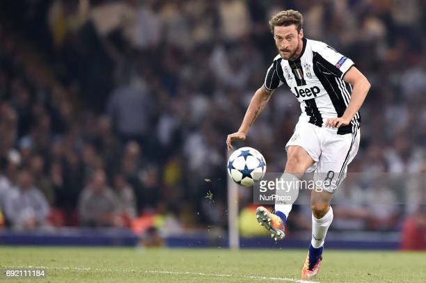 Claudio Marchisio of Juventus during the UEFA Champions League Final match between Real Madrid and Juventus at the National Stadium of Wales Cardiff...