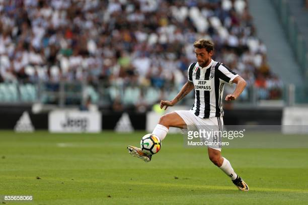 Claudio Marchisio of Juventus FC in action during the Serie A football match between Juventus FC and Cagliari Calcio Juventus Fc wins 30 over...