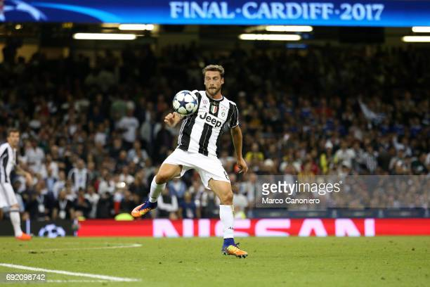 Claudio Marchisio of Juventus FC in action during the UEFA Champions League final match between Juventus FC and Real Madrid CF Real Madrid beat...