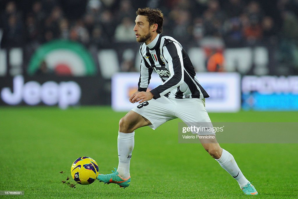 Claudio Marchisio of Juventus in action during the Serie A match between Juventus and Torino FC at Juventus Arena on December 1, 2012 in Turin, Italy.