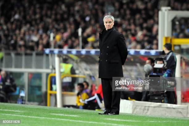 Claudio RANIERI Juventus / Chelsea Champions League