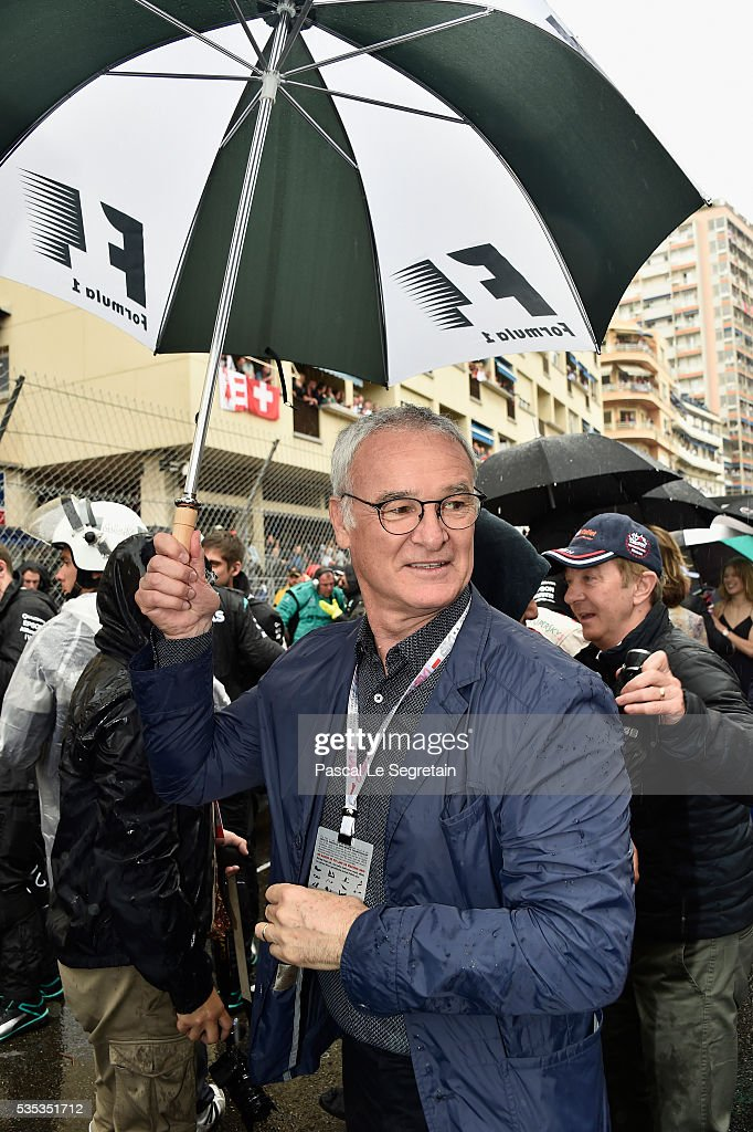 <a gi-track='captionPersonalityLinkClicked' href=/galleries/search?phrase=Claudio+Ranieri&family=editorial&specificpeople=204468 ng-click='$event.stopPropagation()'>Claudio Ranieri</a> attends the F1 Grand Prix of Monaco on May 29, 2016 in Monte-Carlo, Monaco on May 29, 2016 in Monte-Carlo, Monaco.
