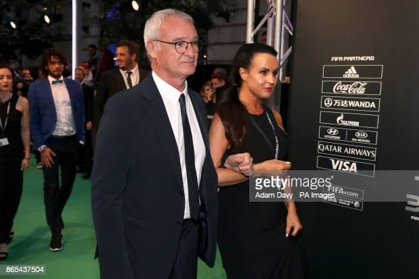 Claudio Ranieri during the Best FIFA Footbal Awards 2017 at the Palladium Theatre London