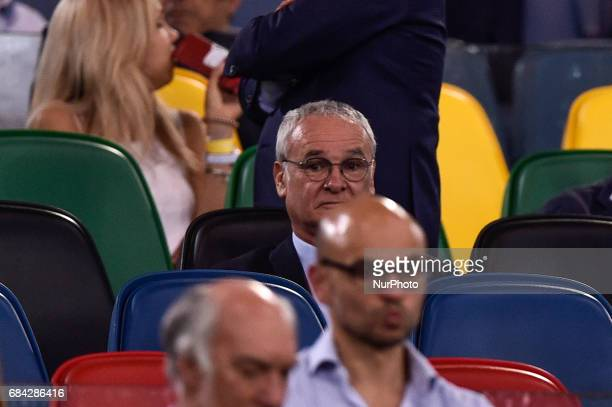 Claudio Ranieri during the Italian Tim Cup 2017 match between Juventus and Lazio at Stadio Olimpico in Rome on May 17 2017