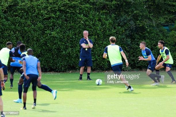 Claudio Ranieri Head coach of Nantes during Press conference and training session of Fc Nantes on June 26 2017 in Nantes France