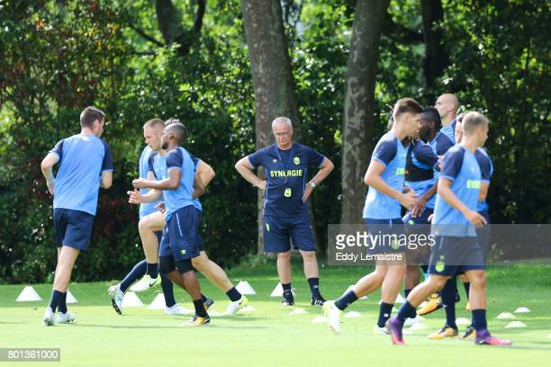 Claudio Ranieri Head coach of Nantes during the training session of Fc Nantes on June 26 2017 in Nantes France