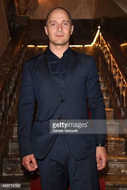 Claudio Santamaria attends 62 Taormina Film Fest Day 6 on June 16 2016 in Taormina Italy