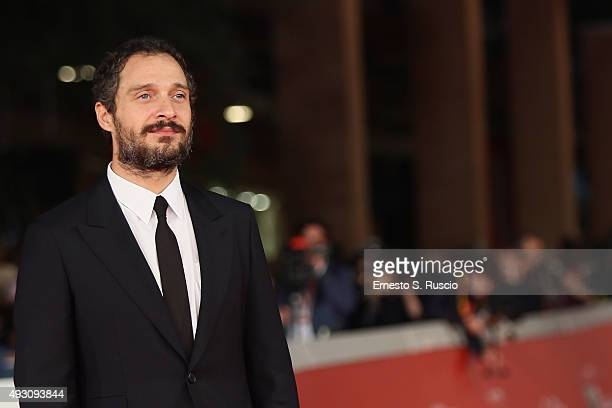 Claudio Santamaria attends a red carpet for 'Lo Chiamavano Jeeg Robot' during the 10th Rome Film Fest on October 17 2015 in Rome Italy