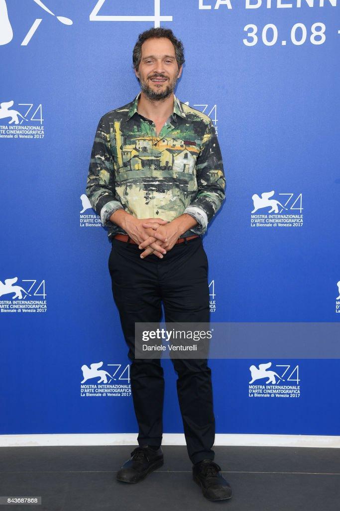 Claudio Santamaria attends the 'Brutti E Cattivi' photocall during the 74th Venice Film Festival at Sala Casino on September 7, 2017 in Venice, Italy.