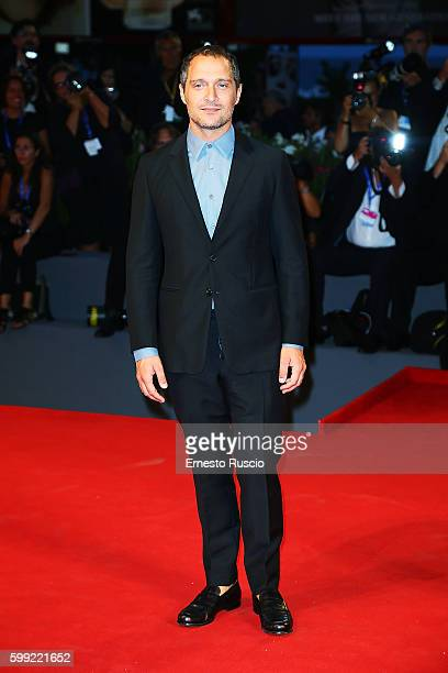 Claudio Santamaria attends the Kineo Diamanti Award Ceremony during the 73rd Venice Film Festival at on September 4 2016 in Venice Italy