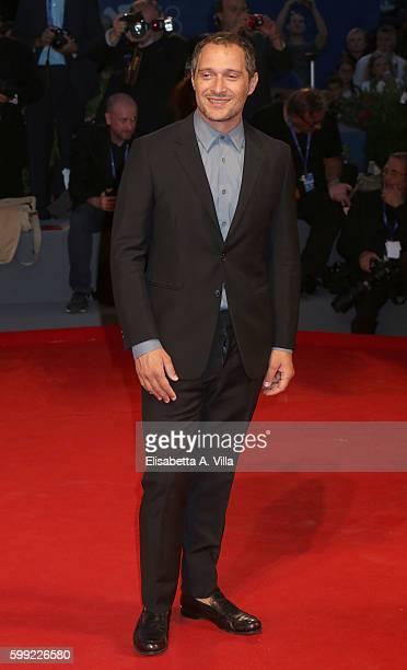 Claudio Santamaria attends the Kineo Diamanti Award Ceremony during the 73rd Venice Film Festival at Palazzo del Cinema on September 4 2016 in Venice...