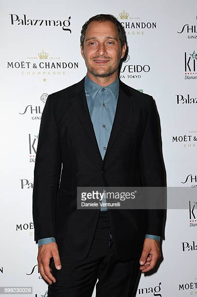 Claudio Santamaria attends the Kineo Diamanti Award party during the 73rd Venice Film Festival at on September 4 2016 in Venice Italy