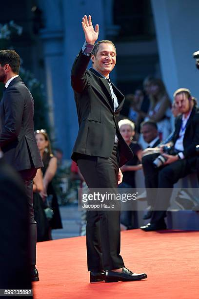 Claudio Santamaria attends the premiere of 'Hacksaw Ridge' during the 73rd Venice Film Festival at Sala Grande on September 4 2016 in Venice Italy