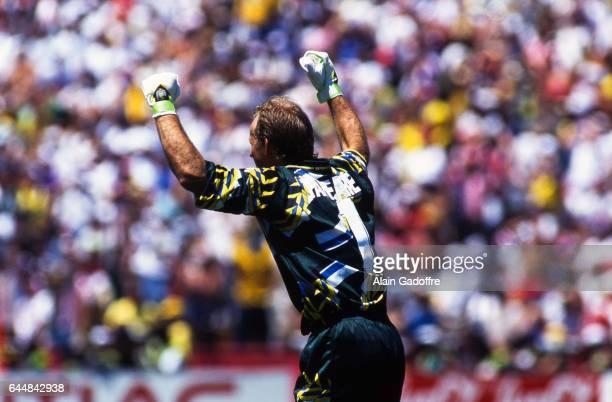 Claudio TAFFAREL Bresil / Etats Unis 1/8Finale Coupe du Monde 1994 Photo Alain Gadoffre / Icon Sport
