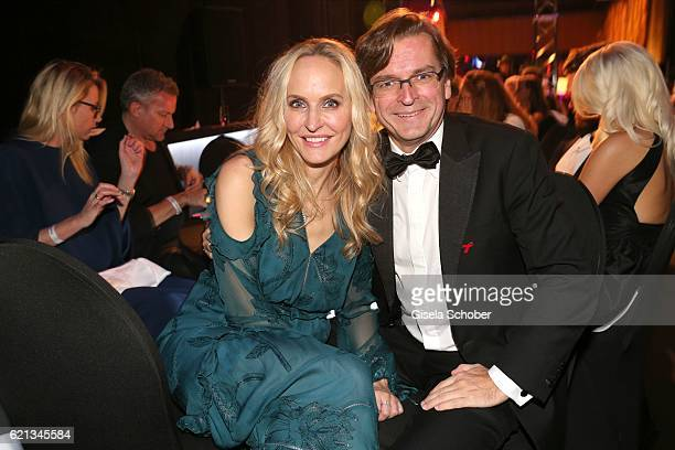 Claus Strunz and his wife Anne MeyerMinnemann editor in chief of Gala during the aftershow party of the 23rd Opera Gala at Deutsche Oper Berlin on...