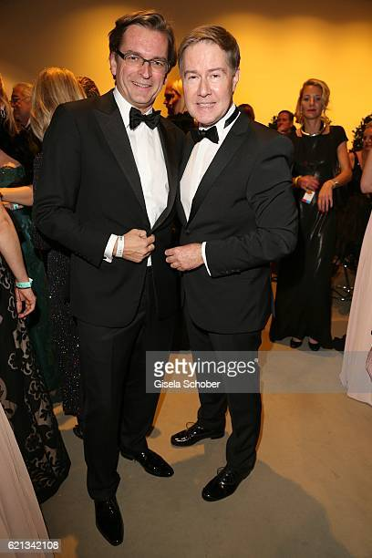 Claus Strunz and Ulrich Meyer during the 23rd Opera Gala at Deutsche Oper Berlin on November 5 2016 in Berlin Germany
