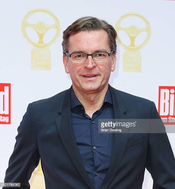 Claus Strunz attends the 'Goldenes Lenkrad' Award at Axel Springer Haus on November 8 2016 in Berlin Germany