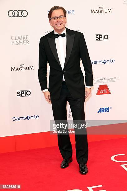 Claus Strunz during the 44th German Film Ball 2017 arrival at Hotel Bayerischer Hof on January 21 2017 in Munich Germany