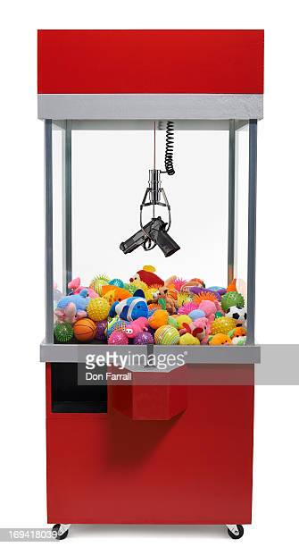 Claw Machine with gun