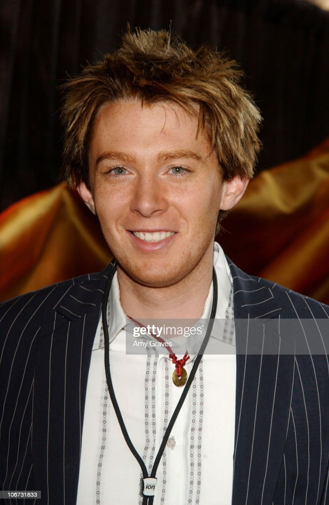 <a gi-track='captionPersonalityLinkClicked' href=/galleries/search?phrase=Clay+Aiken&family=editorial&specificpeople=204201 ng-click='$event.stopPropagation()'>Clay Aiken</a> during 'American Idol' Season 2 Finale - Backstage Creations Talent Retreat - Day 1 at Universal Studios in Universal City, California, United States.