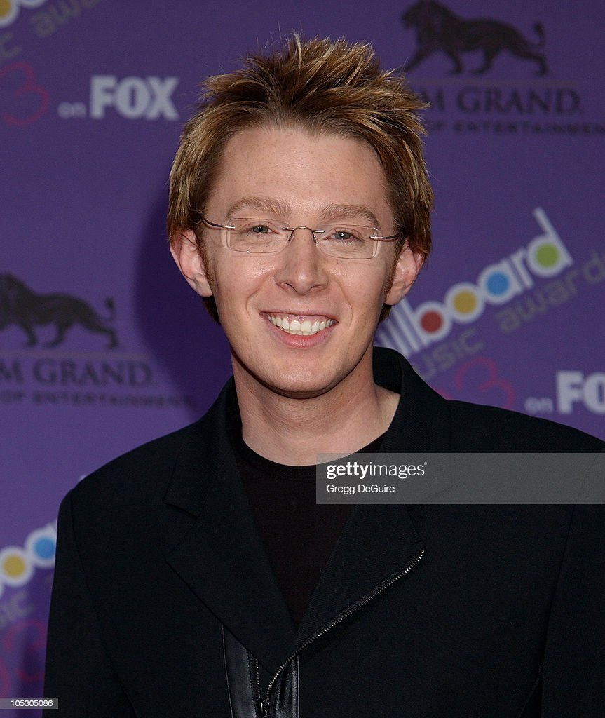 <a gi-track='captionPersonalityLinkClicked' href=/galleries/search?phrase=Clay+Aiken&family=editorial&specificpeople=204201 ng-click='$event.stopPropagation()'>Clay Aiken</a> during The 2003 Billboard Music Awards - Arrivals at MGM Grand in Las Vegas, Nevada, United States.