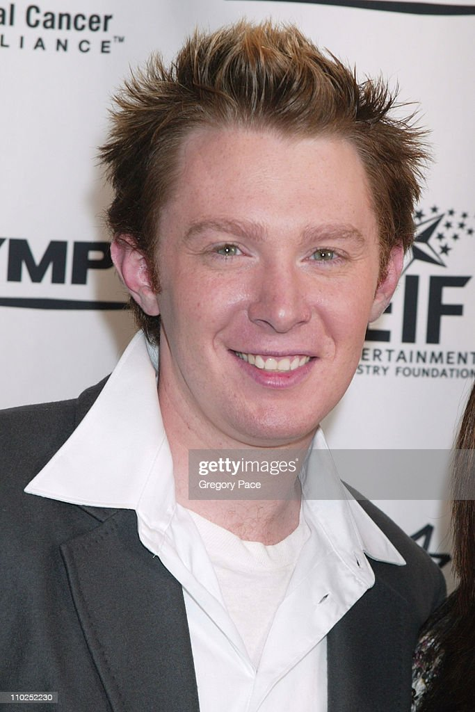 <a gi-track='captionPersonalityLinkClicked' href=/galleries/search?phrase=Clay+Aiken&family=editorial&specificpeople=204201 ng-click='$event.stopPropagation()'>Clay Aiken</a> front row at Kenneth Cole Spring 2006 during Olympus Fashion Week Spring 2006 - Kenneth Cole - Front Row and Backstage at Bryant Park in New York City, New York, United States.