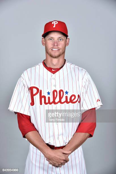 Clay Buchholz of the Philadelphia Phillies poses during Photo Day on Monday February 20 2017 at Spectrum Field in Clearwater Florida