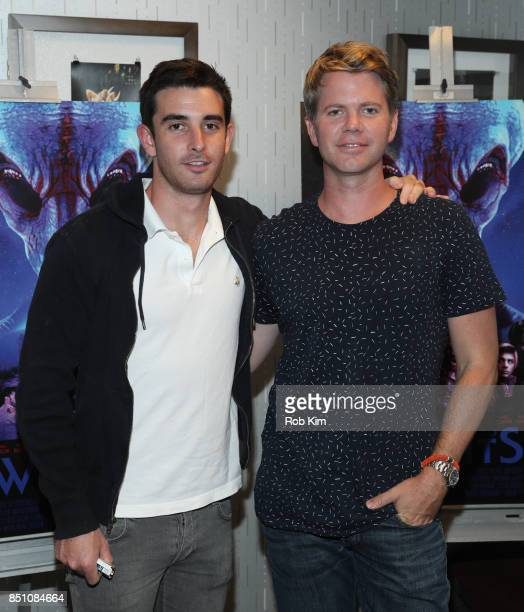 Clay Floren and Andrew Elmets attend the premiere of 'Welcome To Willits' at IFC Center on September 21 2017 in New York City