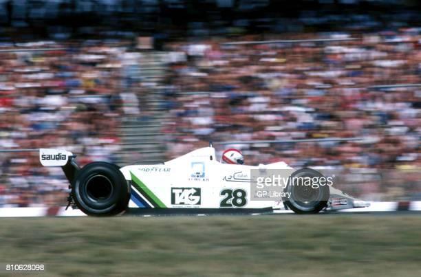 Clay Regazzoni driving a William FW07 at Hockenheim German GP 2nd