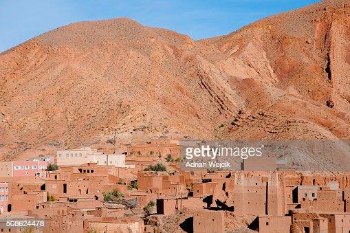 Clay Village - Morocco : Stock Photo