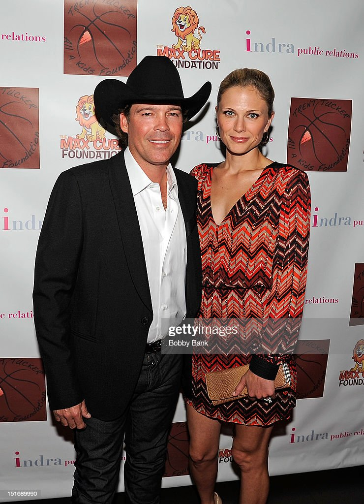 <a gi-track='captionPersonalityLinkClicked' href=/galleries/search?phrase=Clay+Walker&family=editorial&specificpeople=614635 ng-click='$event.stopPropagation()'>Clay Walker</a> and Jessica Walker attend The Trent Tucker Celebrity Gala presented by the All 4 Kids Foundation and The Max Cure Foundation at STK on September 9, 2012 in New York, New York.