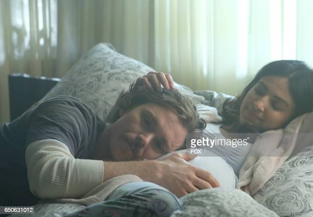 Clayne Crawford and guest star Floriana Lima in the 'Commencement' season finale episode of LETHAL WEAPON airing Wednesday Feb 15 on FOX