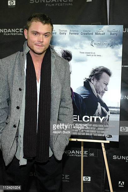 Clayne Crawford during 2006 Sundance Film Festival 'Steel City' Premiere at Racquet Club in Park City Utah United States