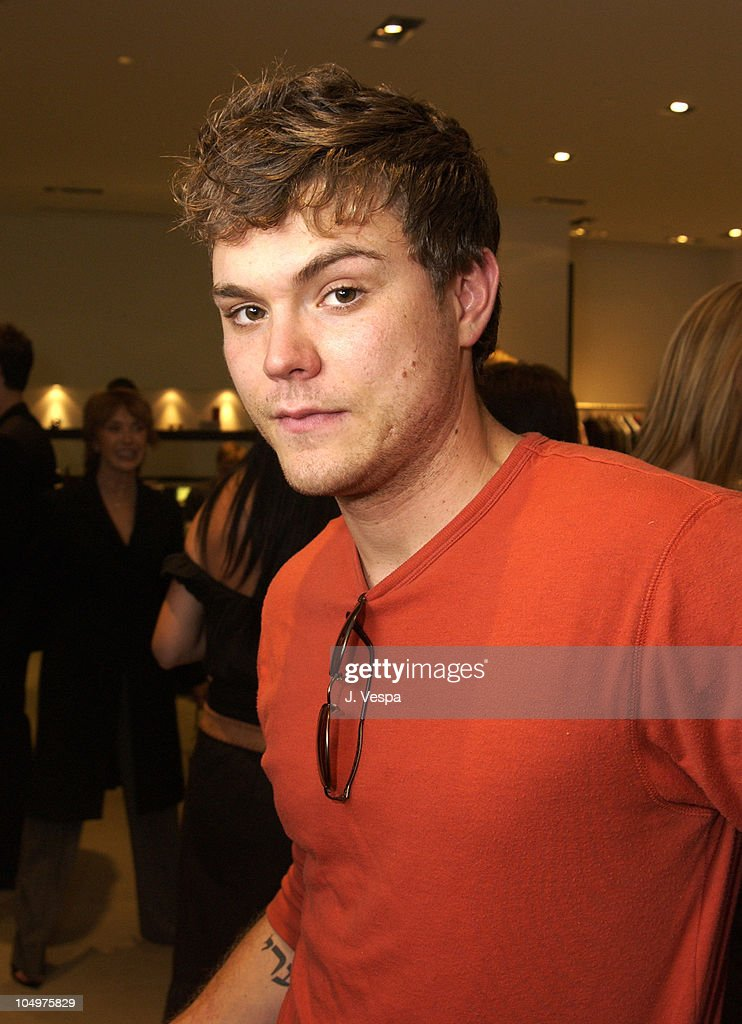 Clayne crawford during movieline hugo boss party at hugo boss store