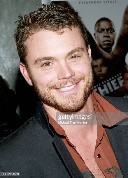 Clayne Crawford during 'Thief' Los Angeles Premiere Inside Arrivals at Pacific Design Center in West Hollywood CA United States