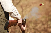 Claypigeon Shooting, cartridge eject