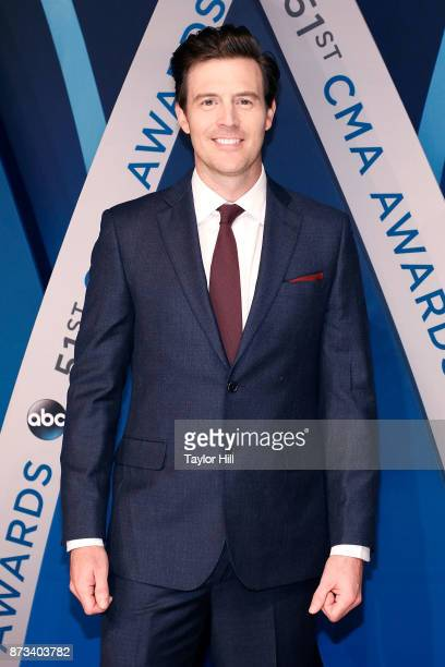 Clayton Anderson attends the 51st annual CMA Awards at the Bridgestone Arena on November 8 2017 in Nashville Tennessee