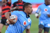 Clayton Blommetjies of Blue Bulls during the Vodacom Cup Quarter Final match between Vodacom Blue Bulls and Eastern Province Kings at Loftus Versveld...