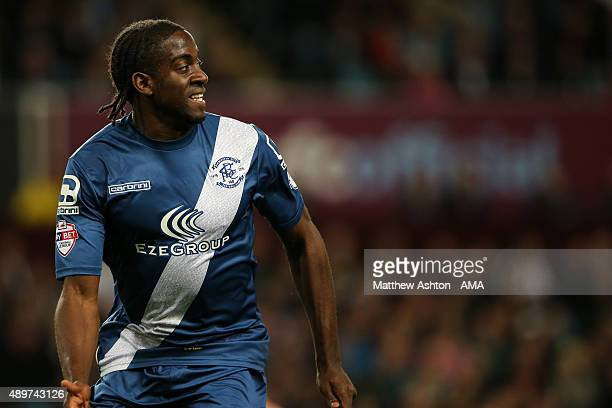 Clayton Donaldson of Birmingham City during the Capital One Cup Third Round match between Aston Villa and Birmingham City at Villa Park on September...