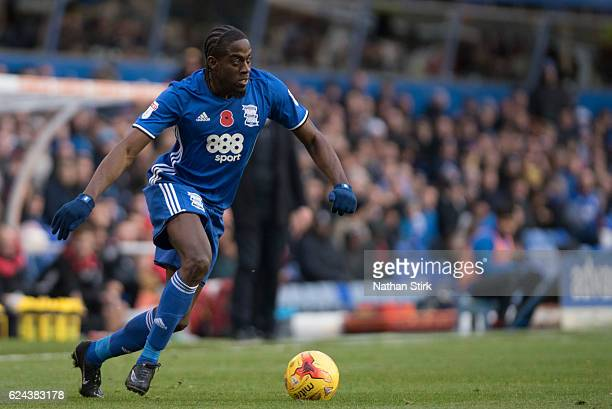 Clayton Donaldson of Birmingham City in action during the Sky Bet Championship match between Birmingham City and Bristol City at St Andrews Stadium...