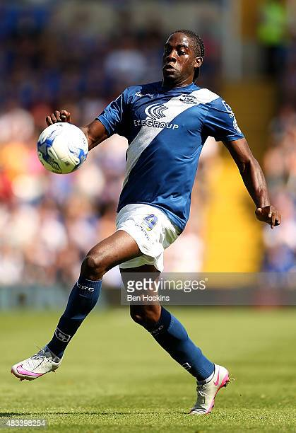 Clayton Donaldson of Birmingham in action during the Sky Bet Championship match between Birmingham City and Reading at St Andrews Stadium on August 8...
