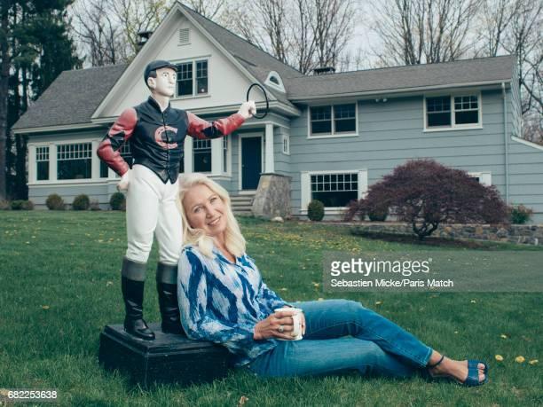 Clea Newman is photographed for Paris Match on April 24 2017 in Salem Connecticut