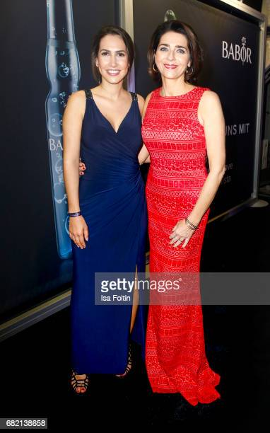 CleaLacy Juhn and Christiane Lingner attend the Duftstars at Kraftwerk Mitte on May 11 2017 in Berlin Germany