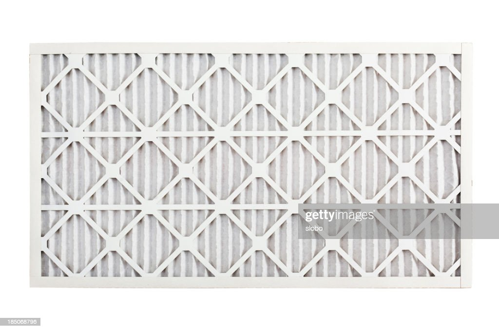 Clean Air Conditioner Filter : Stock Photo