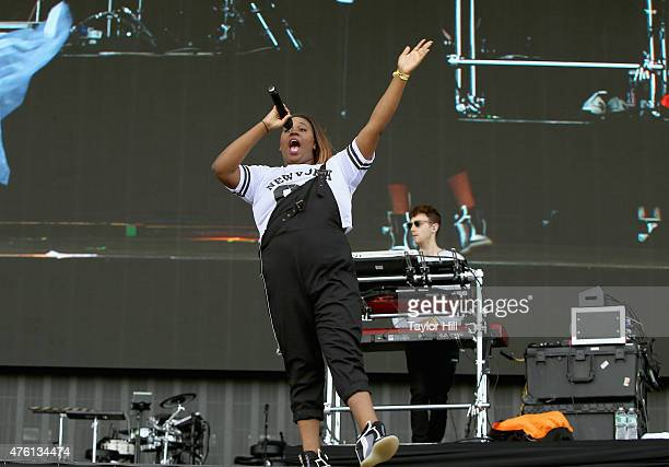 Clean Bandit performs onstage during 2015 Governors Ball Music Festival at Randall's Island on June 6 2015 in New York City