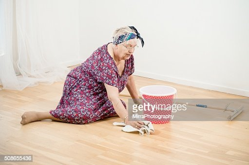 Clean it better with your hands : Stock Photo
